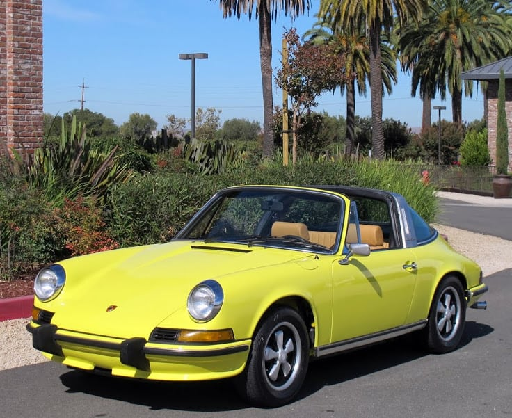 1968 porsche 911 targa for sale contact dusty cars. Black Bedroom Furniture Sets. Home Design Ideas