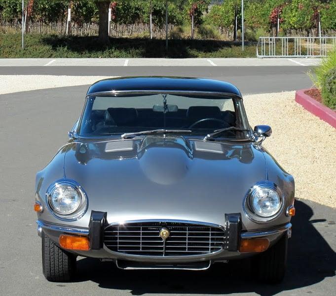 1974 Jaguar E-type (3)   Dusty Cars