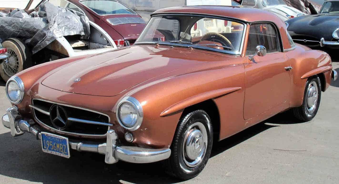 1955-Mercedes-190SL-Brown
