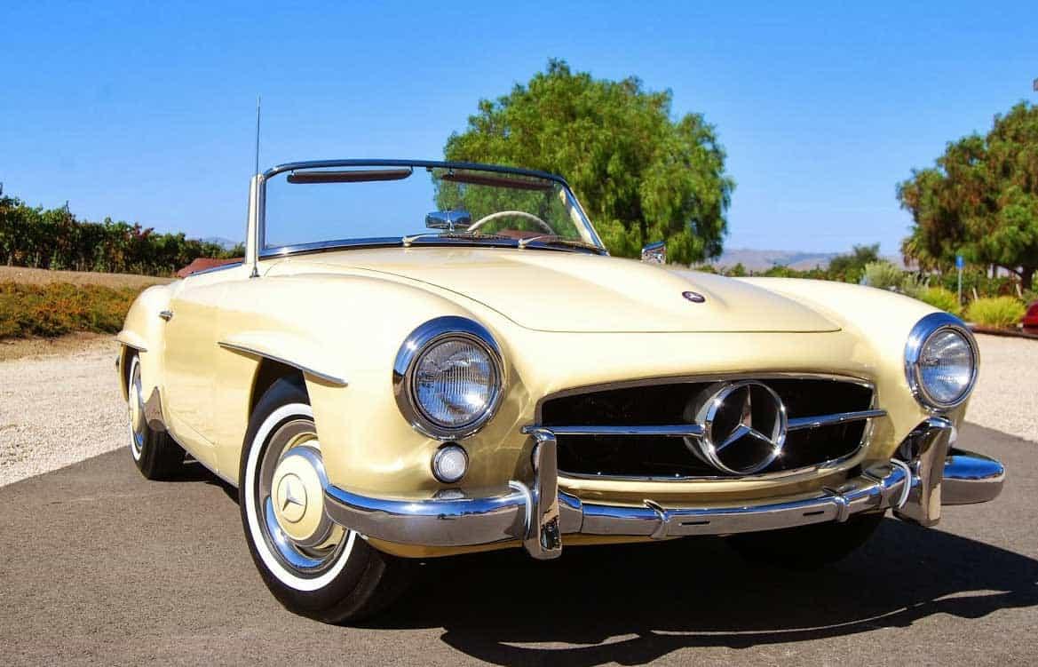 1958-Mercedes-190SL-Creme