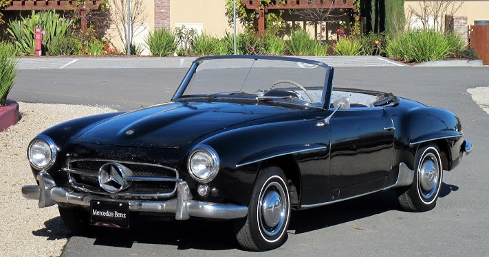 1970 mercedes 280sl convertible for sale dusty cars. Black Bedroom Furniture Sets. Home Design Ideas