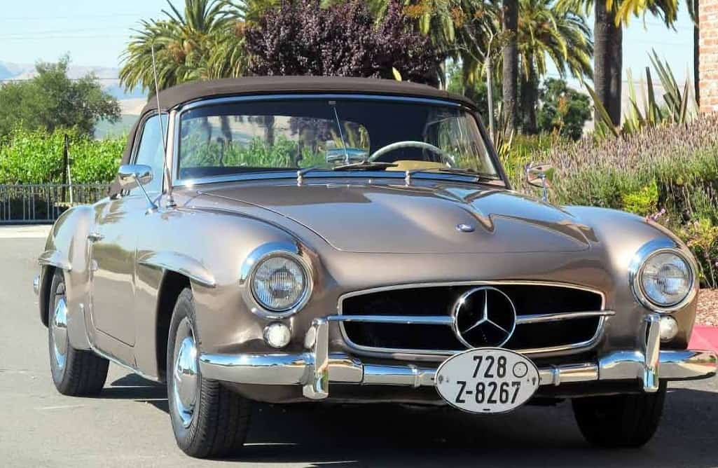 1963-Mercedes-190SL-Biege