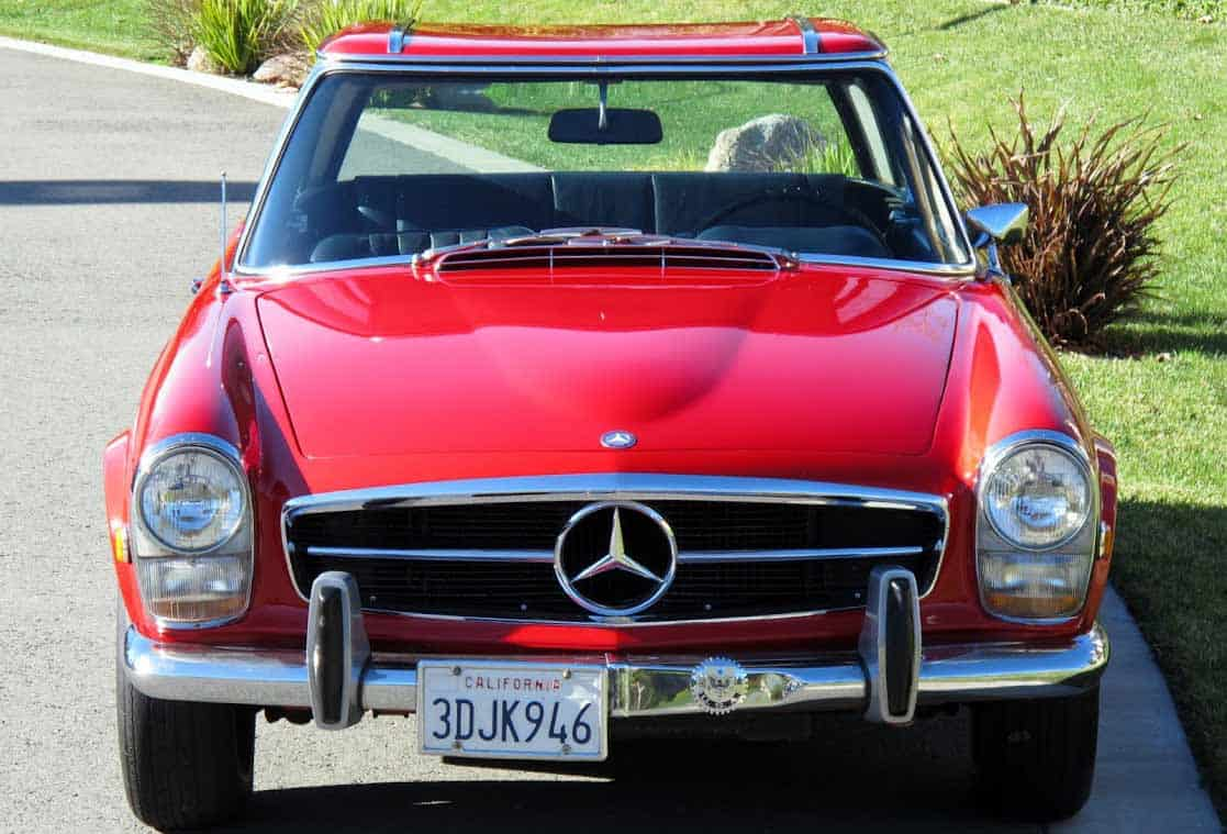 1966-Mercedes-250SL-Red