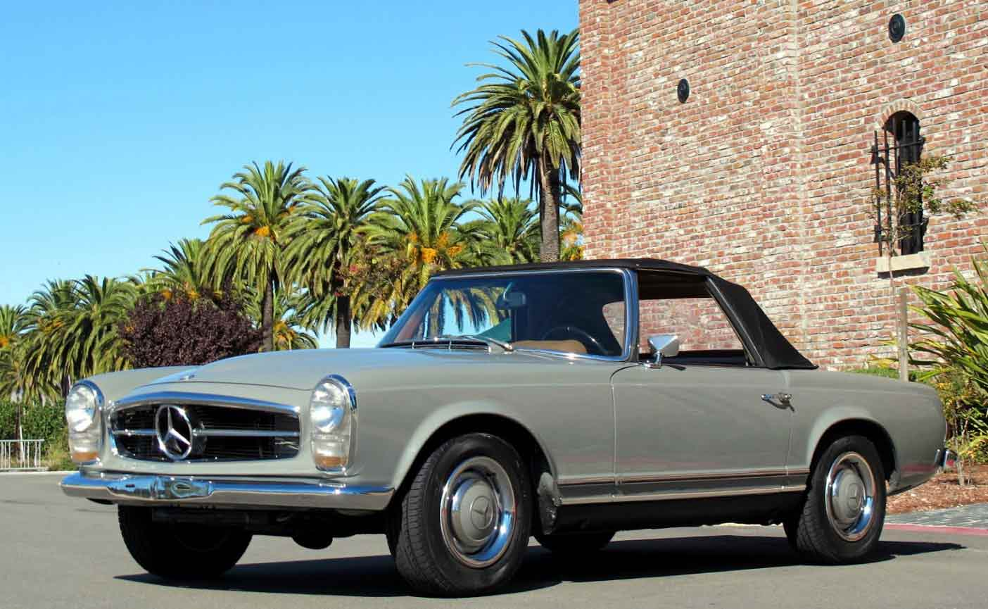 1967-Mercedes-250SL-Grey
