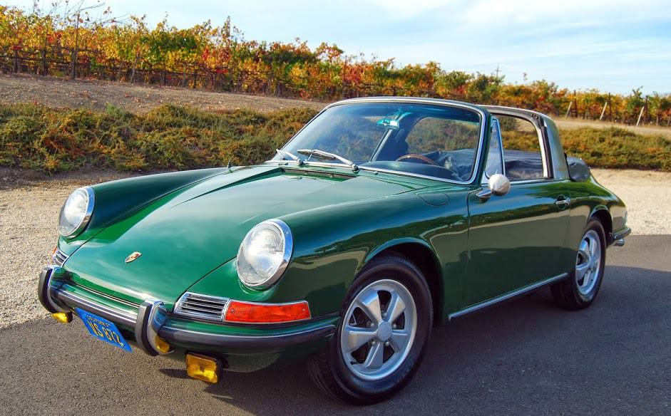 1967 porsche 911s targa coupe for sale dusty cars. Black Bedroom Furniture Sets. Home Design Ideas