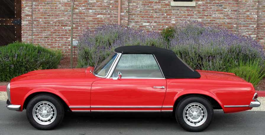 1968-Mercedes-280SL-Red