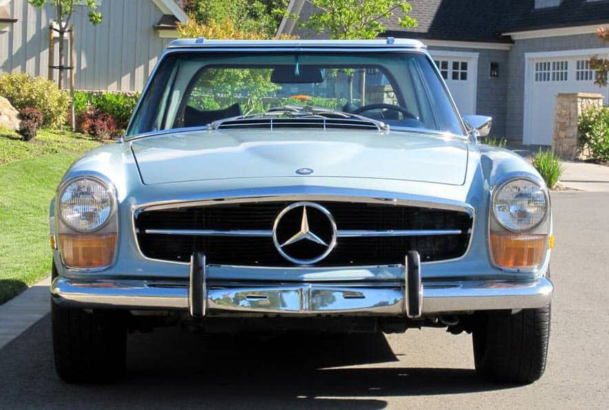1970-Mercedes-280SL-Sky-Blue