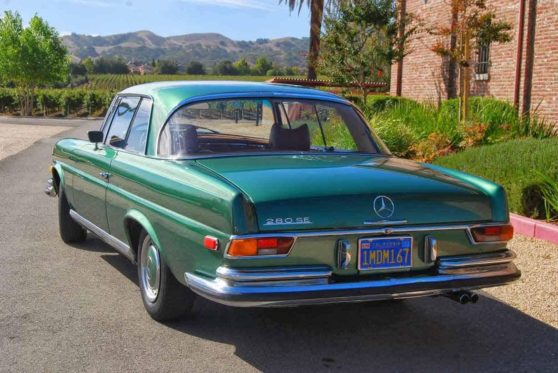1970-Mercedes-280se-Lowgrille-Coupe