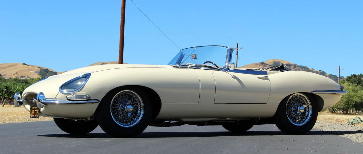 1964 Jaguar E-type 3.8 liter Series 1 roadster
