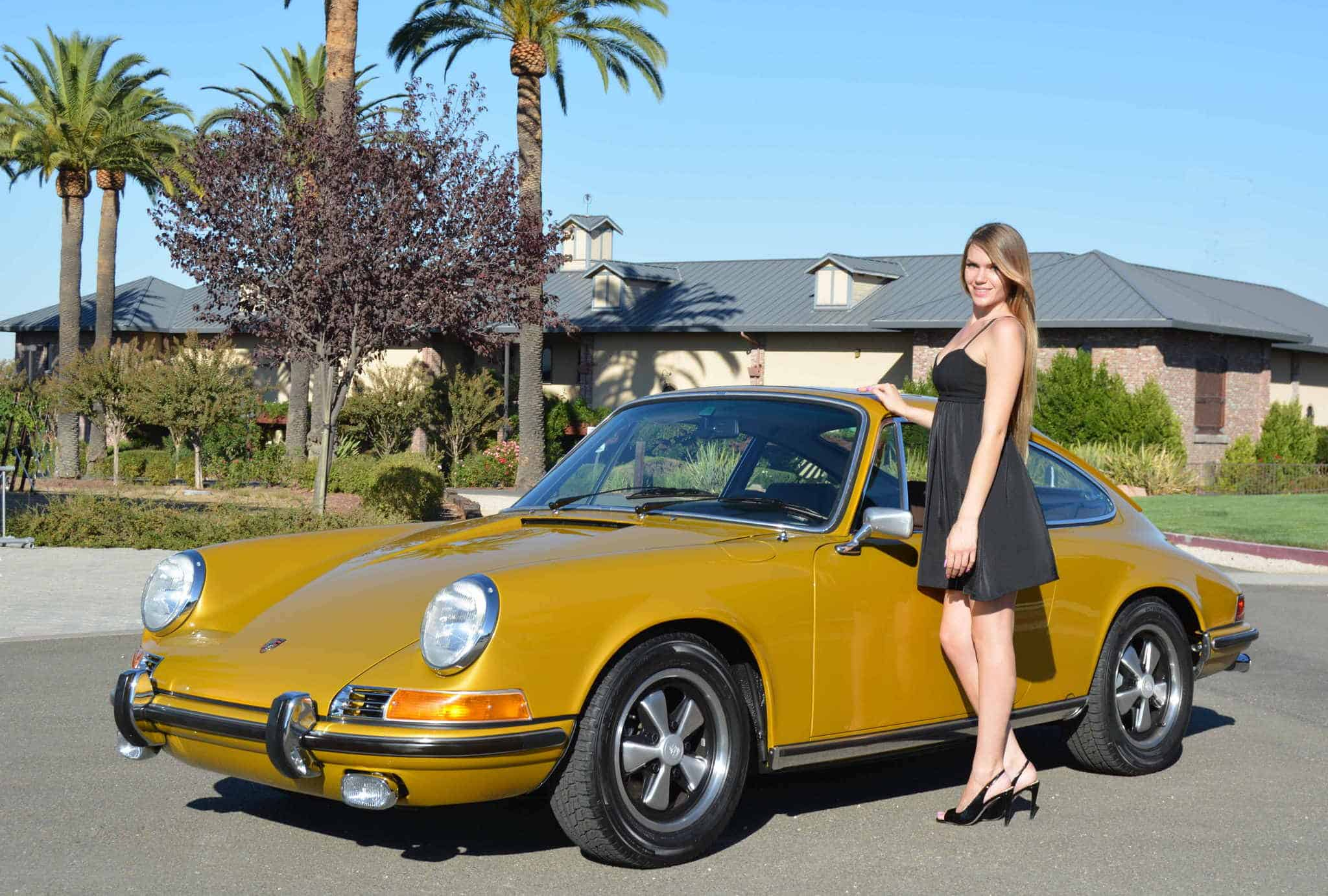 1972 Porsche 911e Sunroof Coupe For Sale Contact Dusty Cars