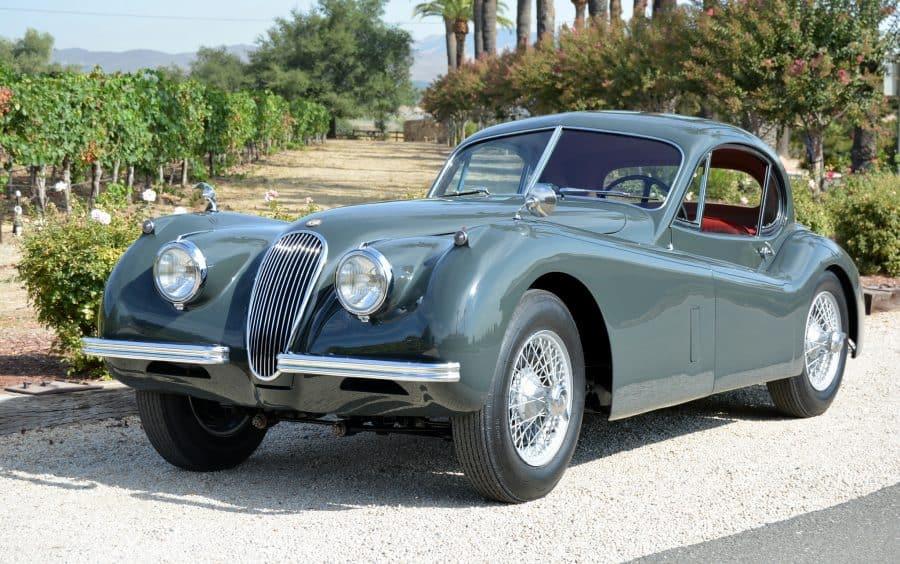 1952 Jaguar XK120 Coupe