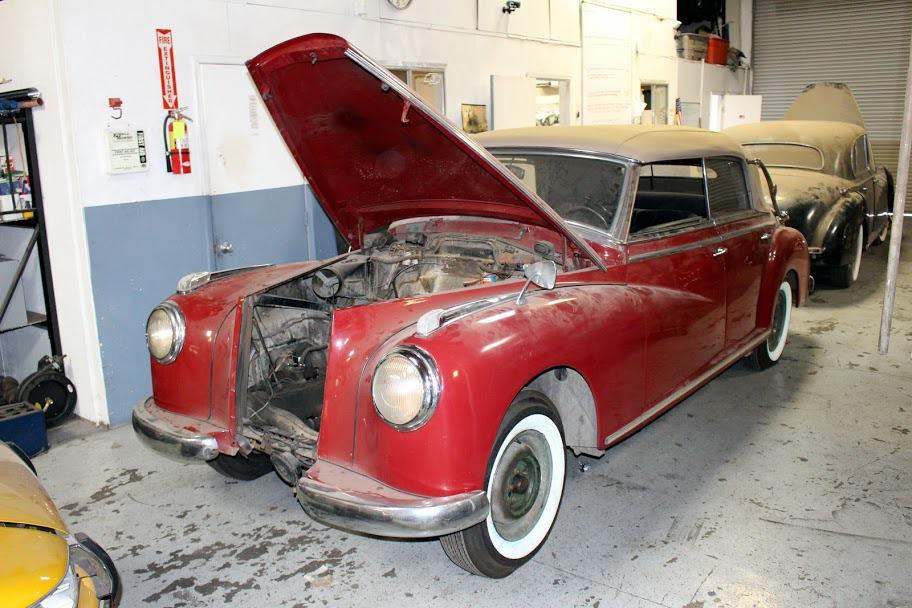 1952 Mercedes 300 Convertible