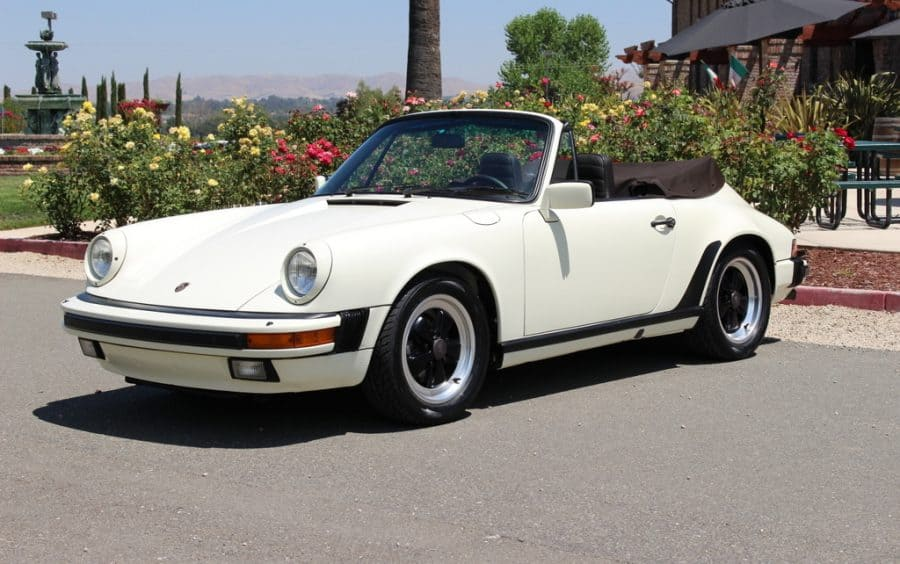 1984 porsche 911 convertible for sale contact dusty cars. Black Bedroom Furniture Sets. Home Design Ideas
