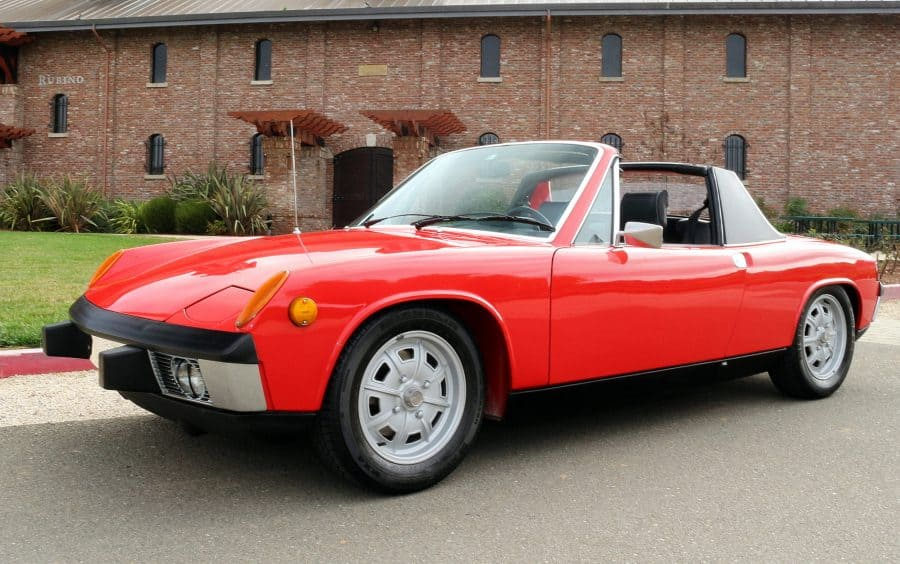 1973 porsche 914 targa for sale contact dusty cars. Black Bedroom Furniture Sets. Home Design Ideas