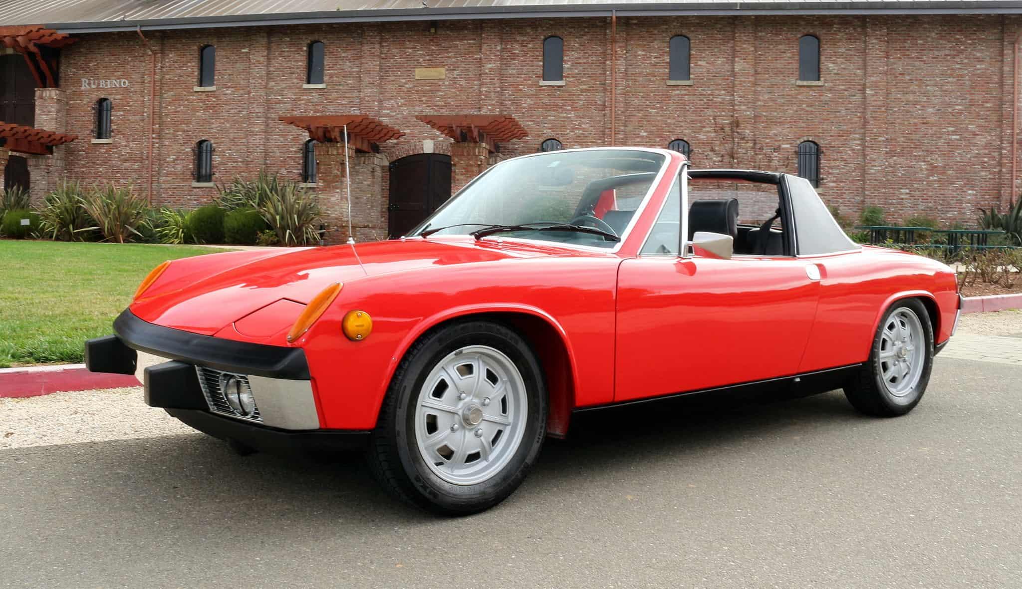 1973 Porsche 914 Targa For Sale Contact Dusty Cars