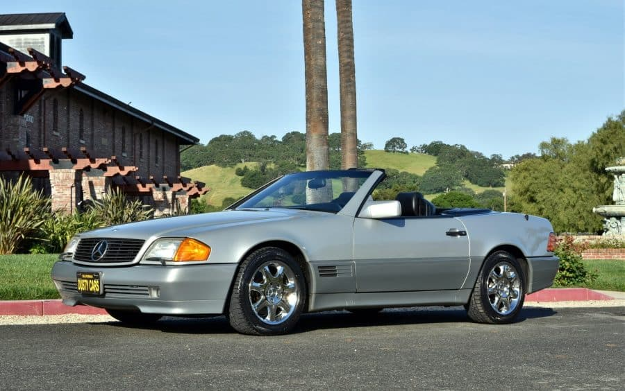 1990 mercedes benz 500sl roadster dusty cars for 1990 mercedes benz 500sl for sale