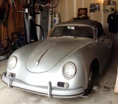 classic car for sale - 1957 Porsche 356A Cabriolet - 51k