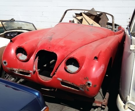 classic car for sale - 1958 Jaguar XK150 Drophead Coupe - 23k
