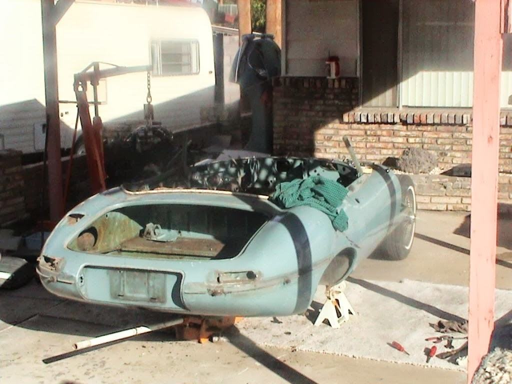 classic car for sale - 1968 Jaguar E Type Roadster - 20k