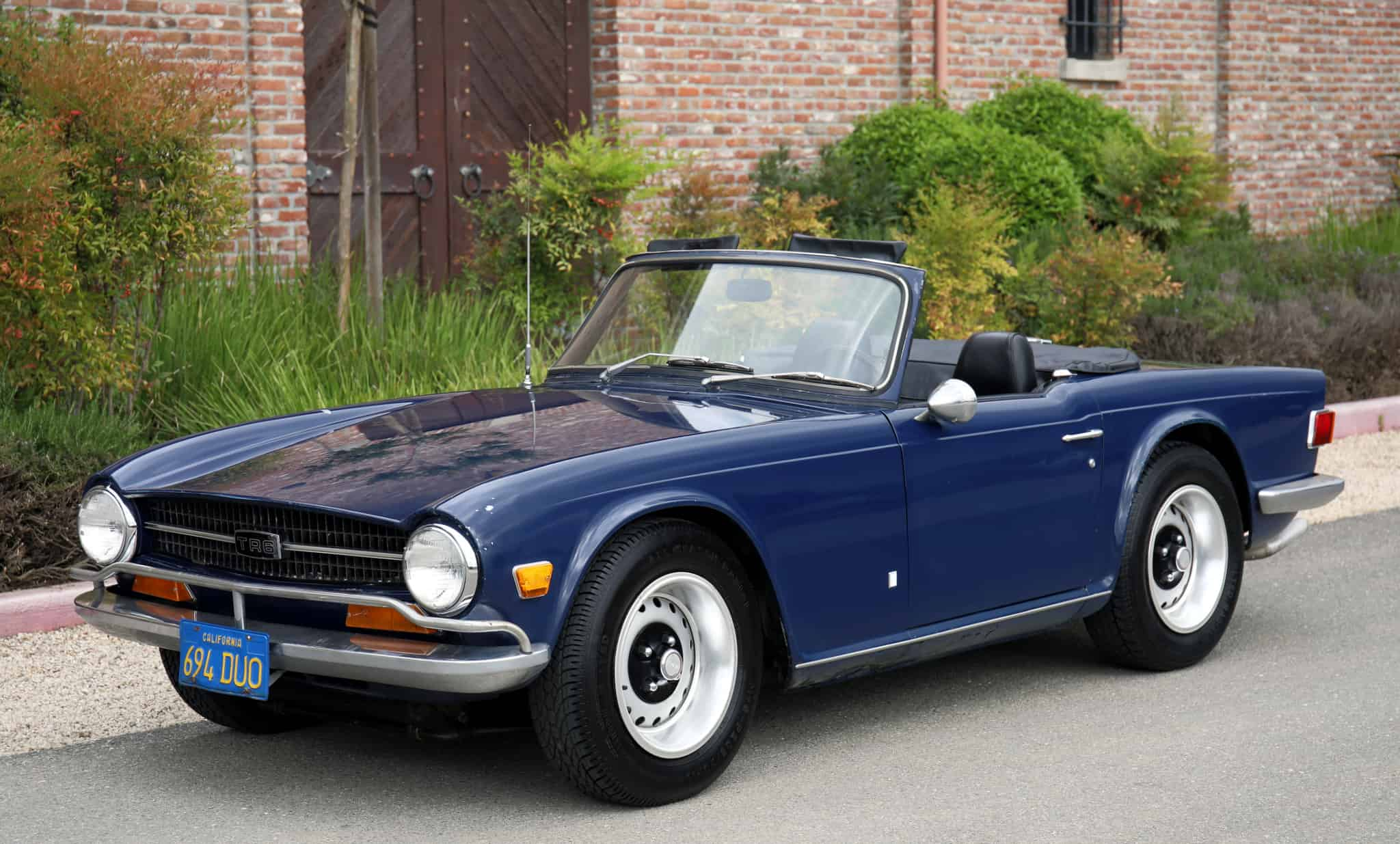 1971 Triumph Tr6 Roadster Dusty Cars