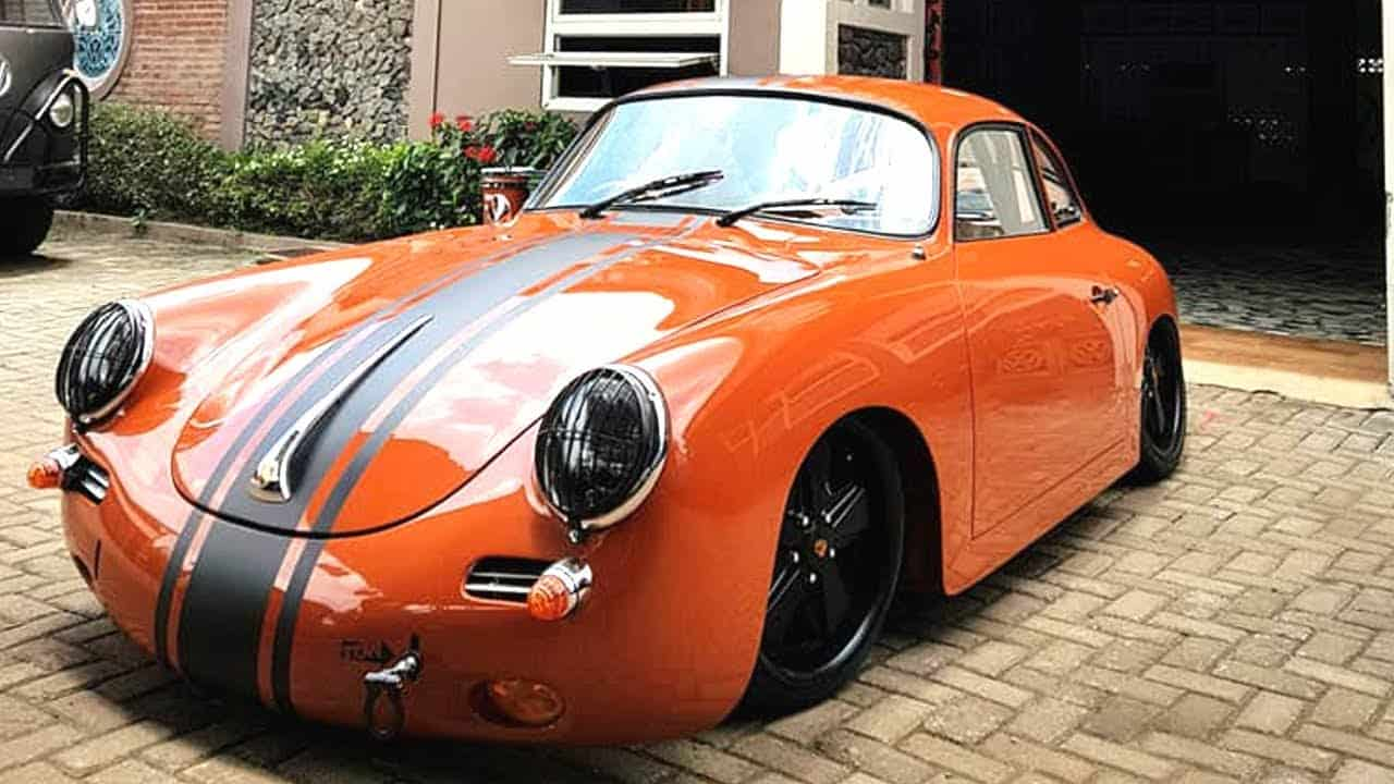 make your own porsche 356 or 550 with a replica kit from. Black Bedroom Furniture Sets. Home Design Ideas